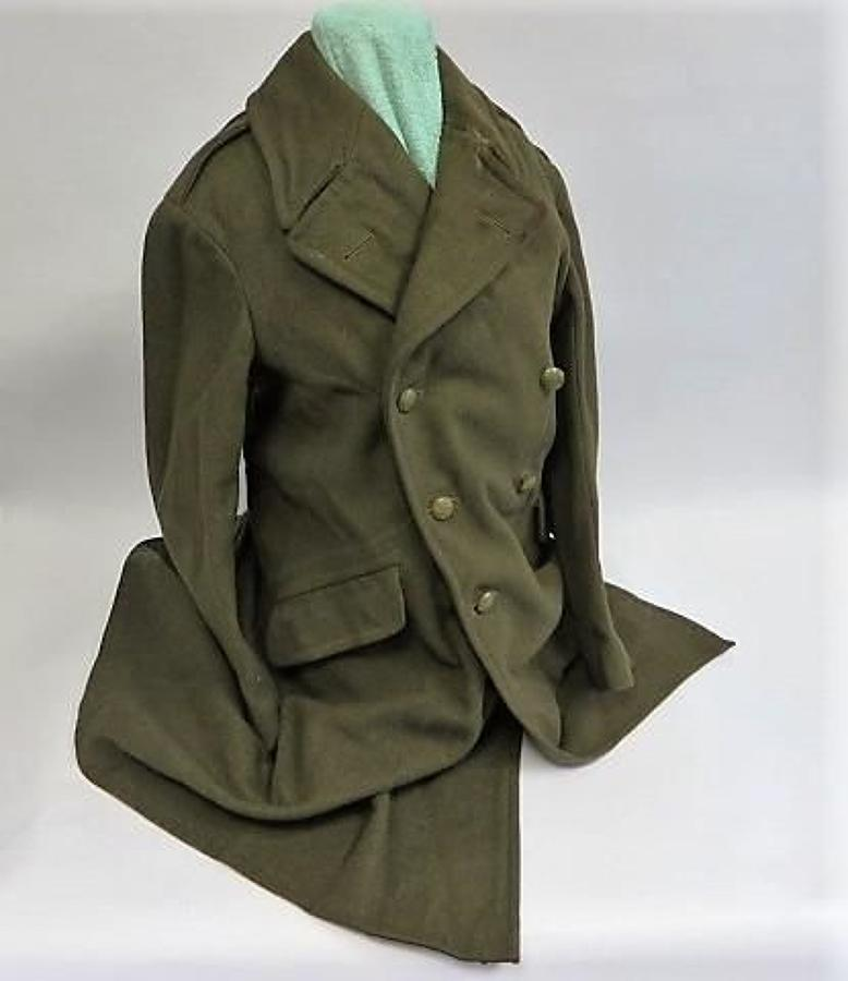 WW 2 British Army Greatcoat
