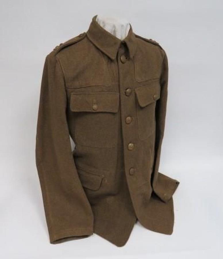 WW2 Northumberland Fusiliers Utility Pattern Service Dress Tunic