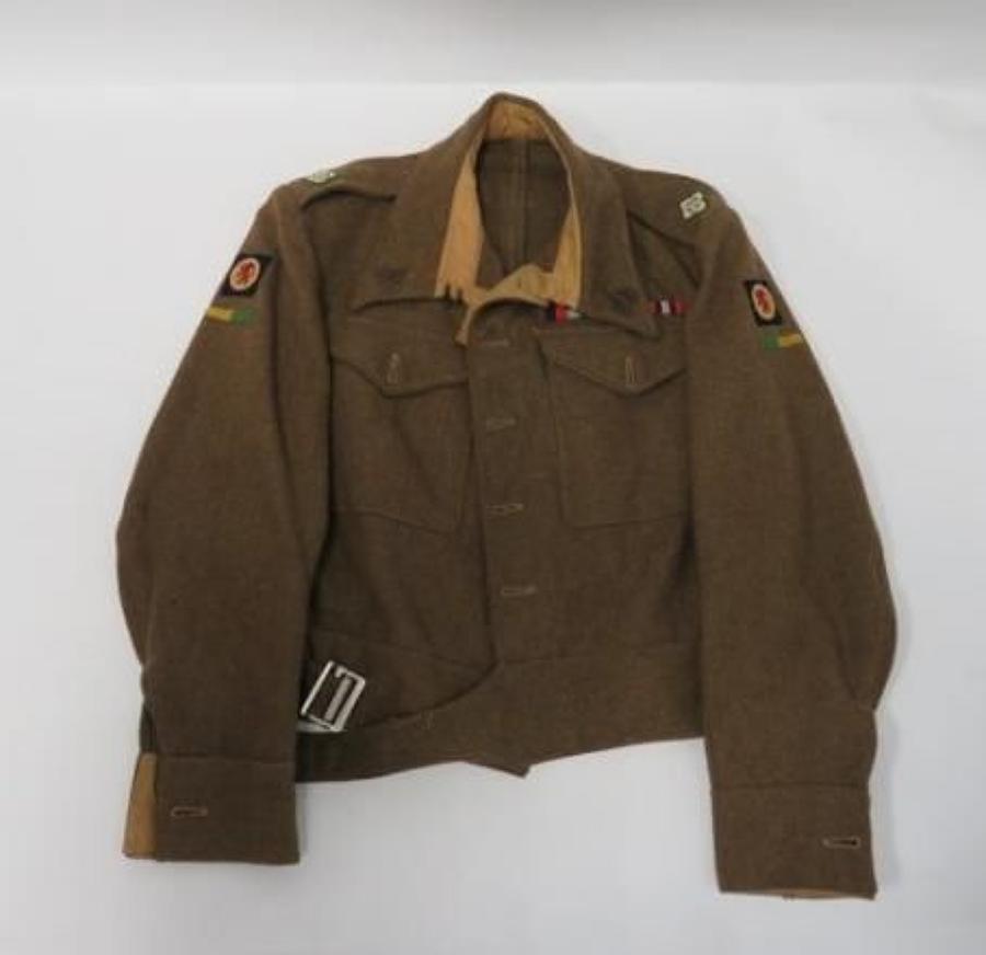 1940 Pattern Reconnaissance Corps Officer Battle Dress Jacket
