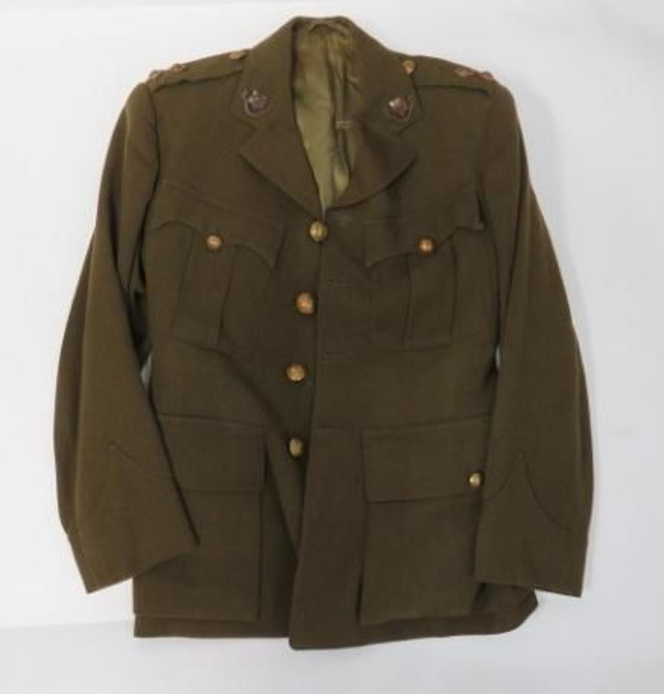 WW 2 Loyal Regiment Officers Service Dress Tunic