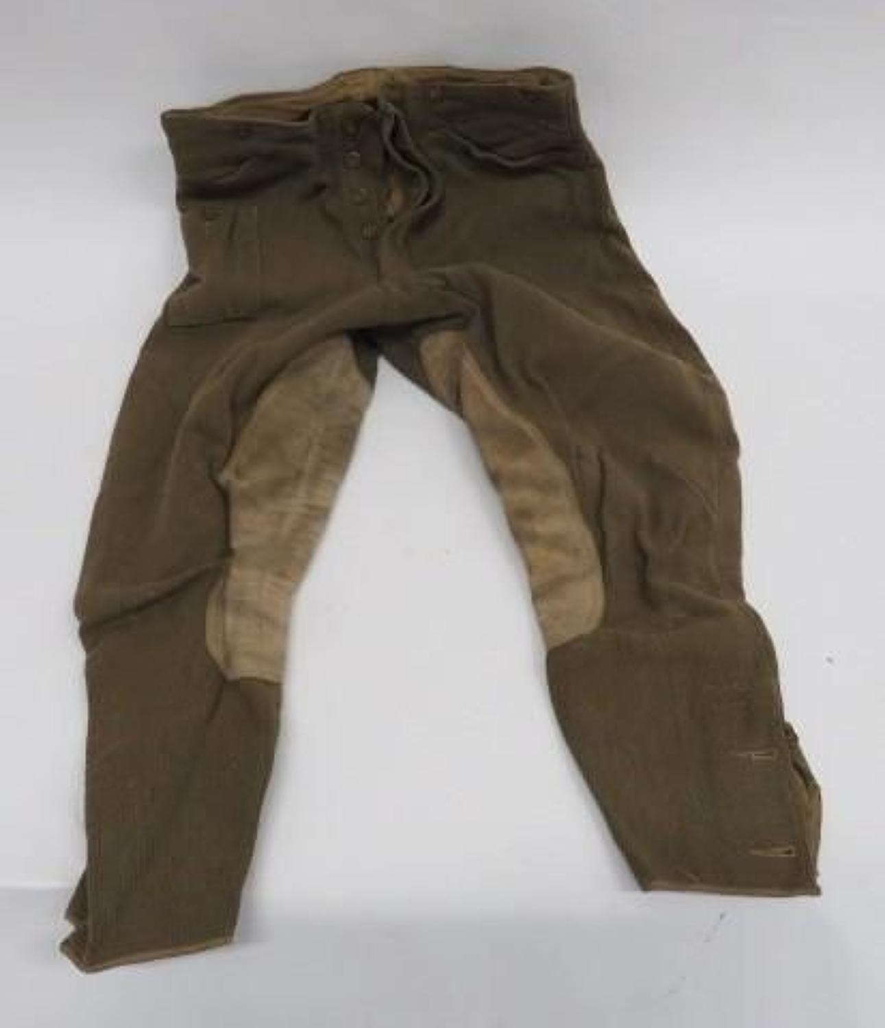Pair of WW 2 Dispatch Riders Breeches