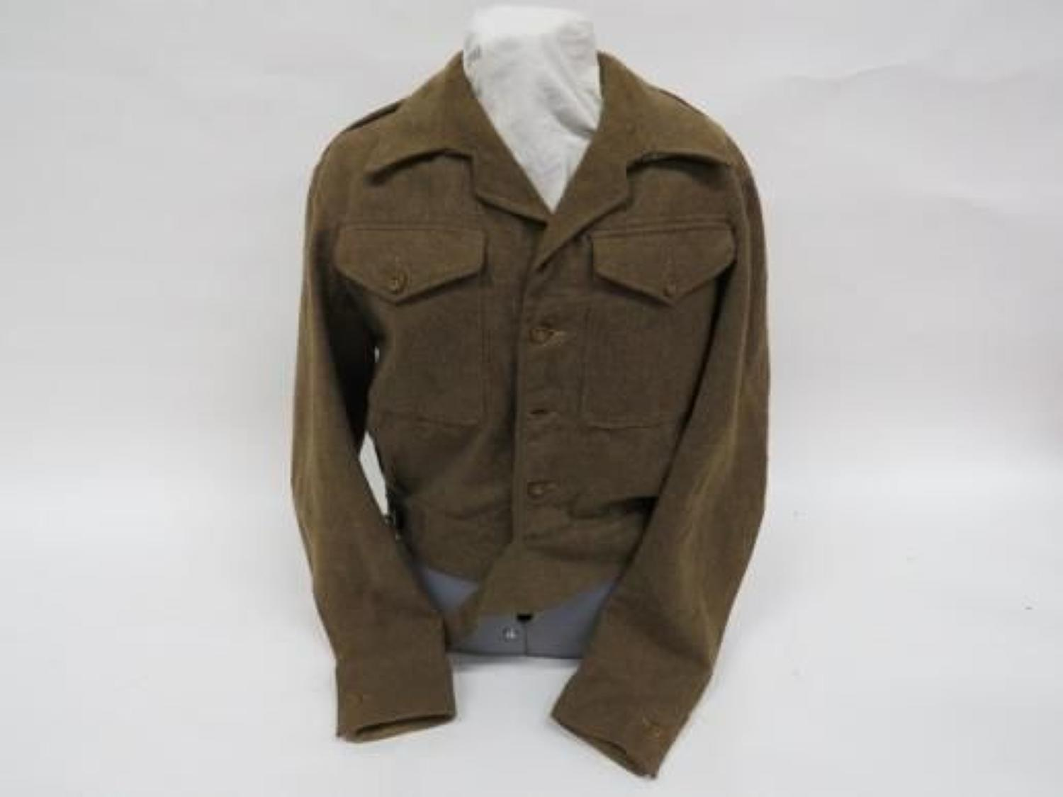 1945 Dated Good Size Clean 1940 Pattern Battle Dress Jacket