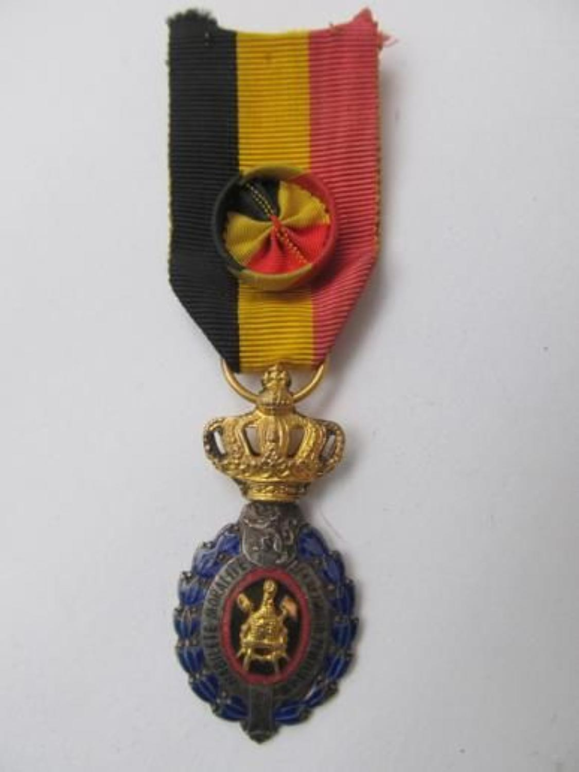 Belgian Order in Gilt