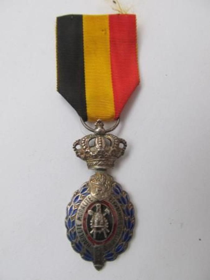 Belgian Order Silvered