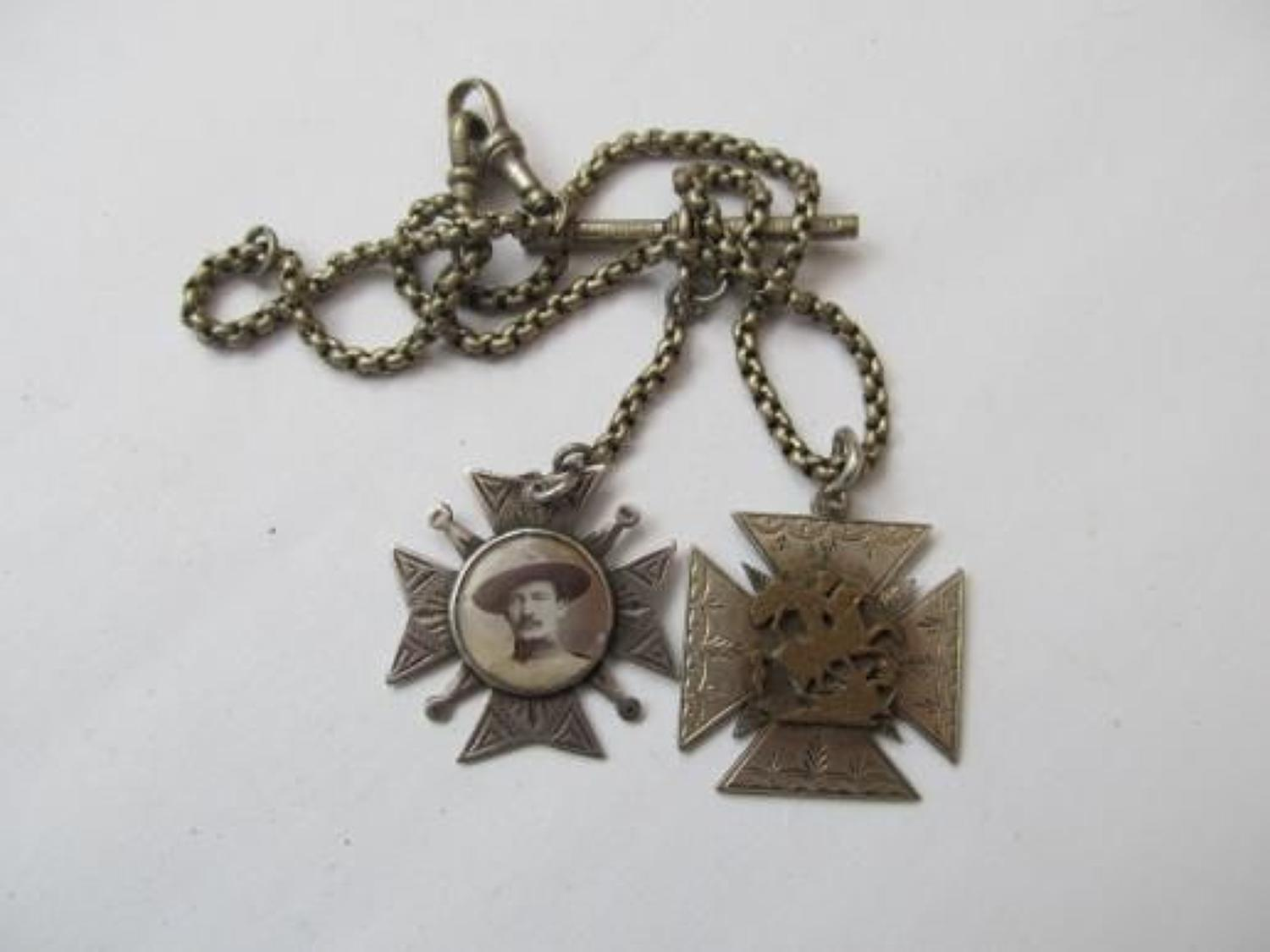 Baden Powell Watch Chain And Fob