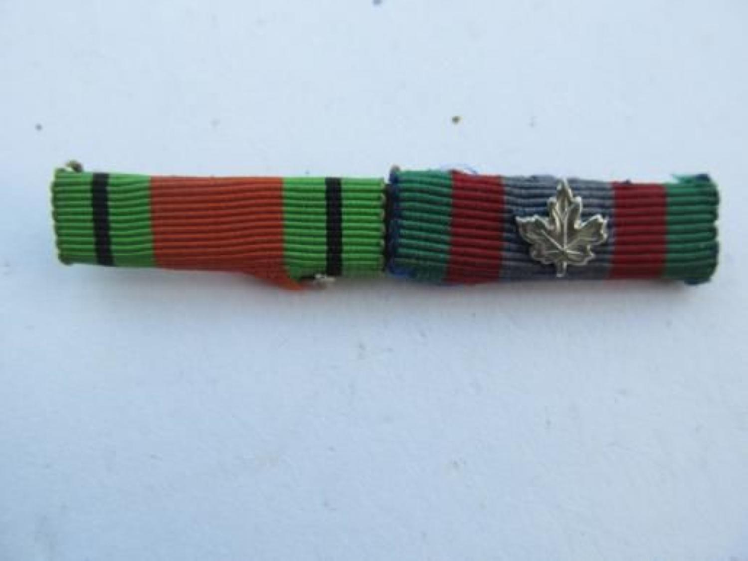 Canadian Forces Ribbon Medal Bar