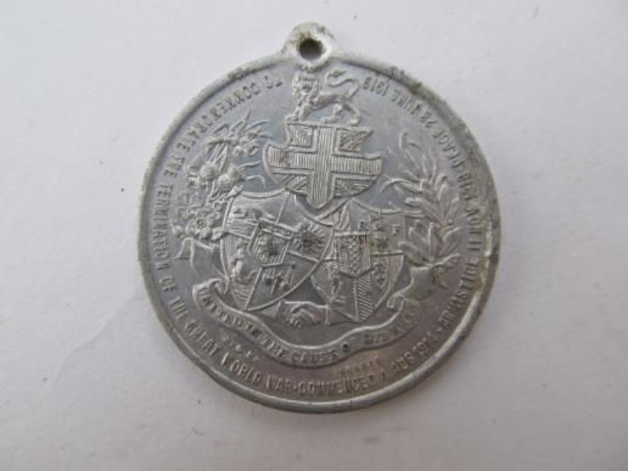 County Borough of Smethick Peace Medal