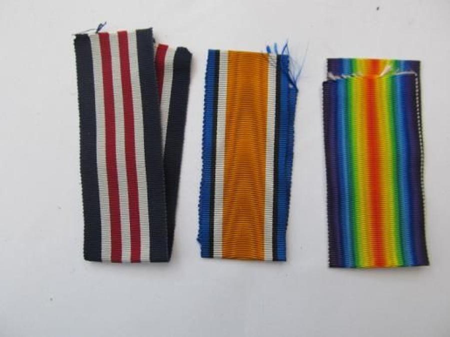 Original WW 1 Medal Ribbons