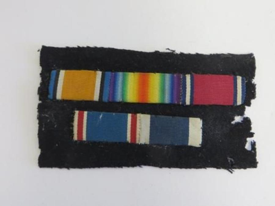 Naval WW 1 Uniform Medal Ribbon Bar