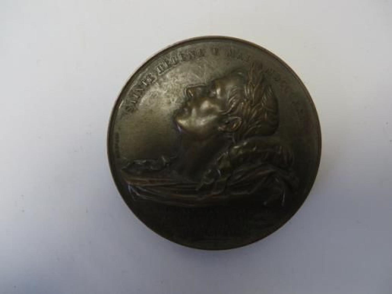 Death of Napoleon Commemorative Medallion