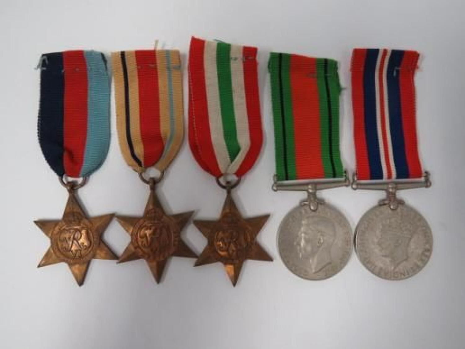 WW 2 Medal Group