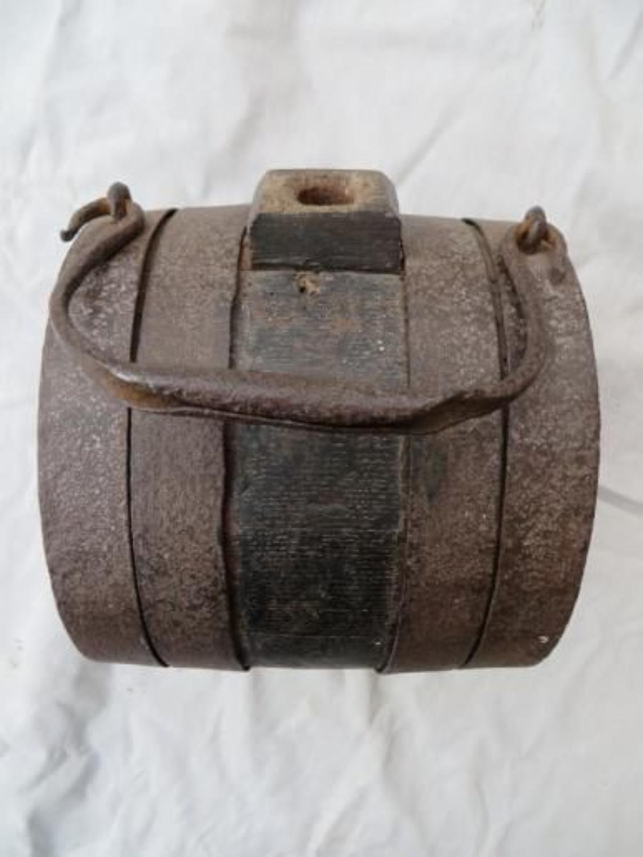Georgian Napolonic War Military Pattern Drinking Barrel
