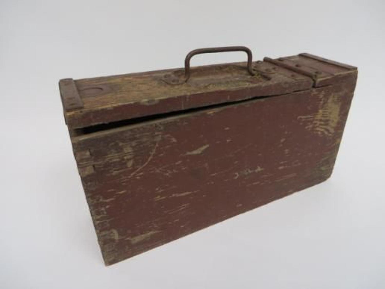 WW1 German Maxim Machine Gun Ammunition Box