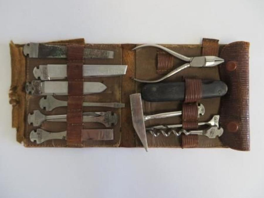 Early 1900s German Made Penknife Tool Set
