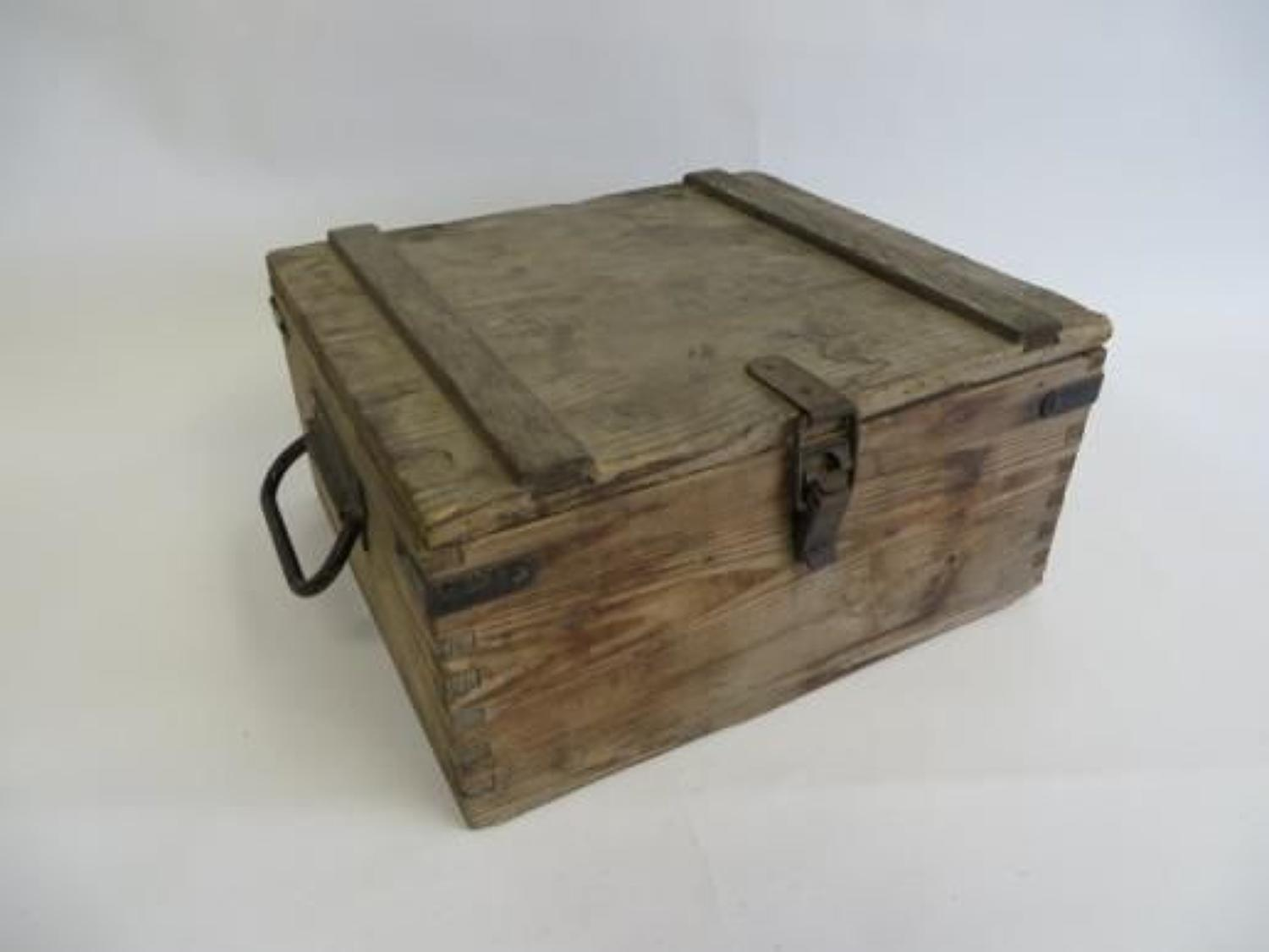 WW2 Ammunition /Grenade Wooden Transit Box