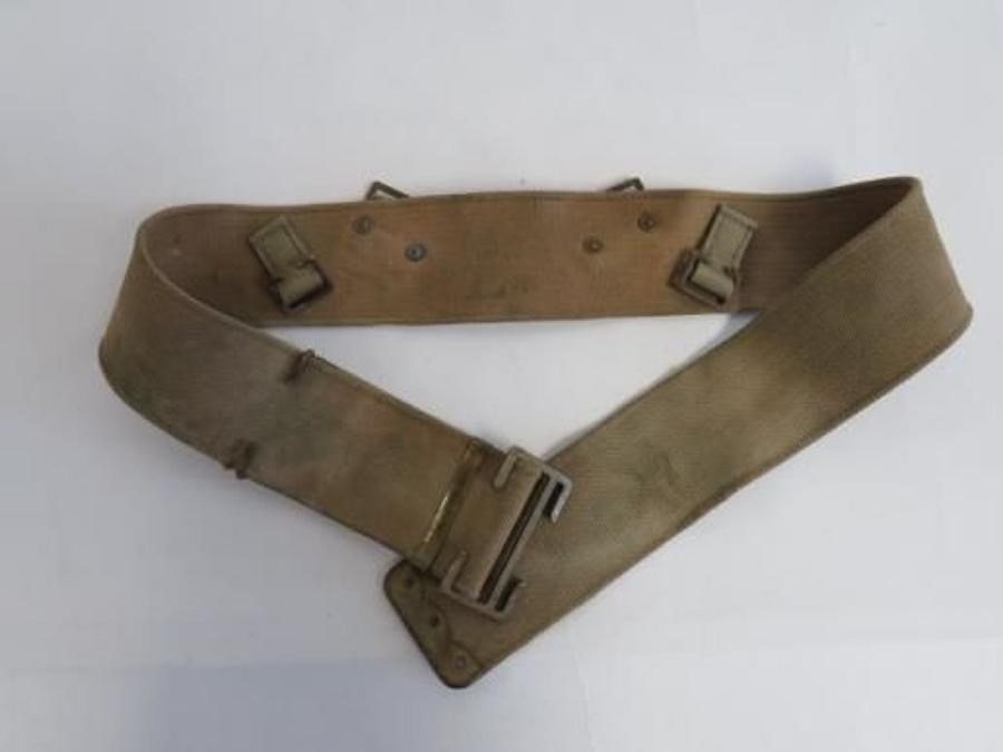 Special Pattern 1908 Webbing Belt for Revolver use