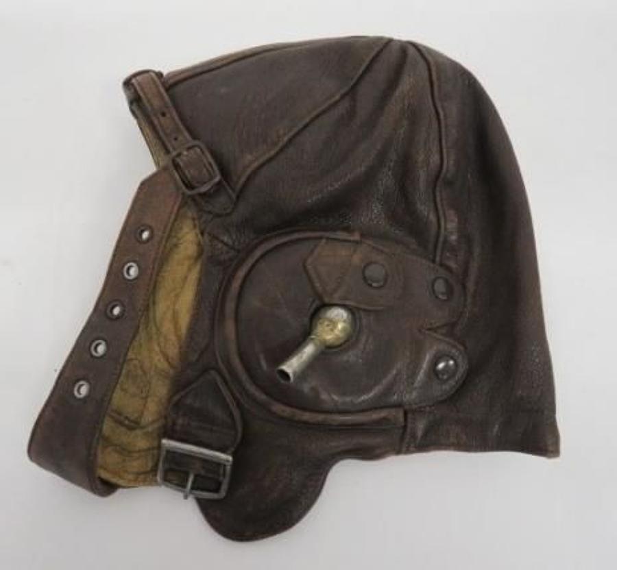 Interwar R.A.F Lewis Flying Helmet