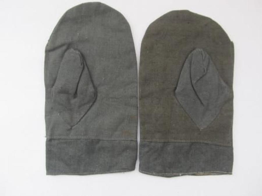 WW2 German Cold Weather Reversible Mittens
