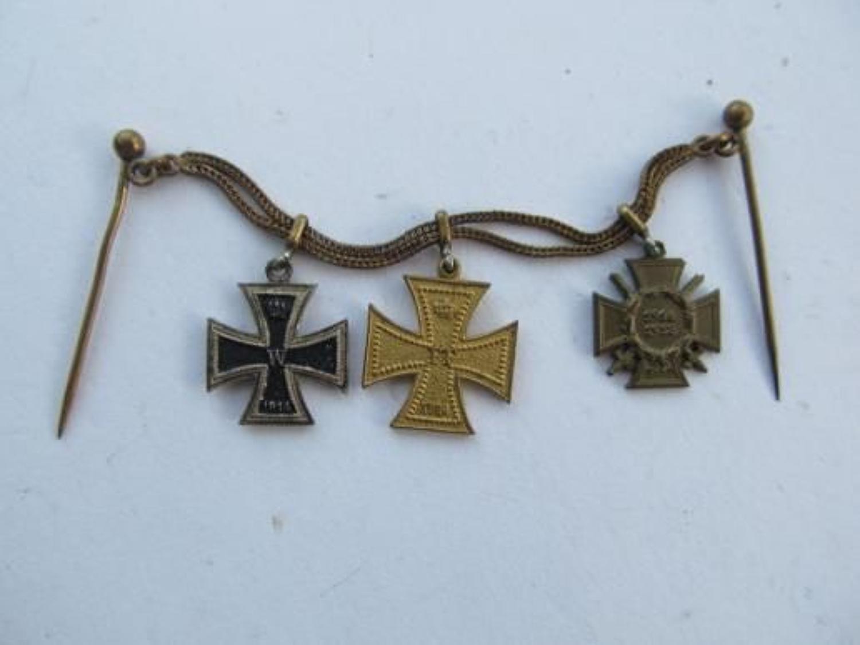Imperial German Miniature Medal Group