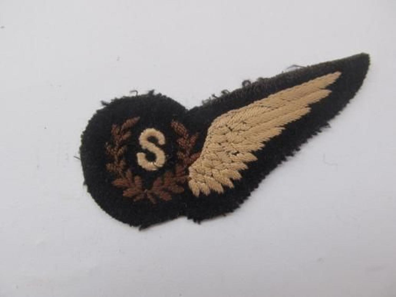 WW2 RAF Signaller's Half Wing