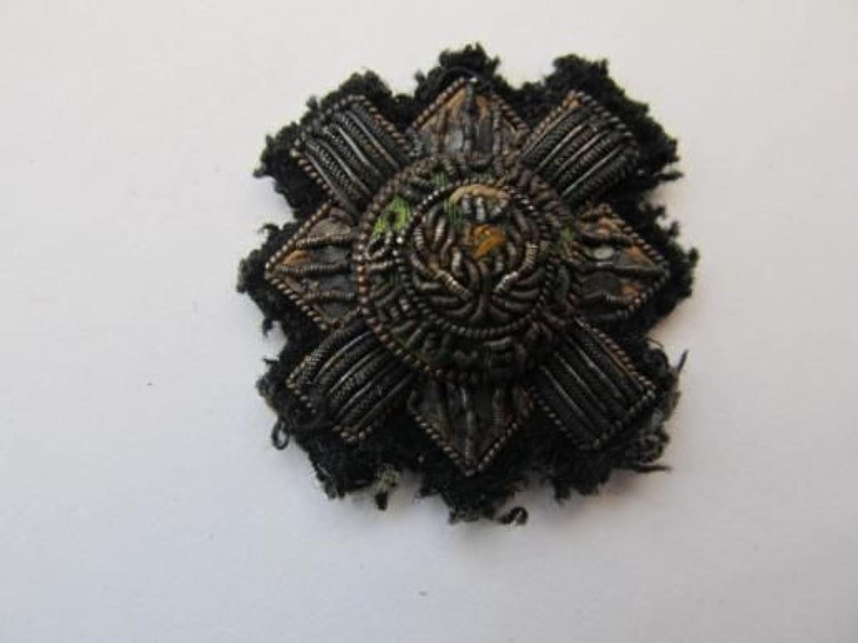 Royal Scots Officer's Beret Badge