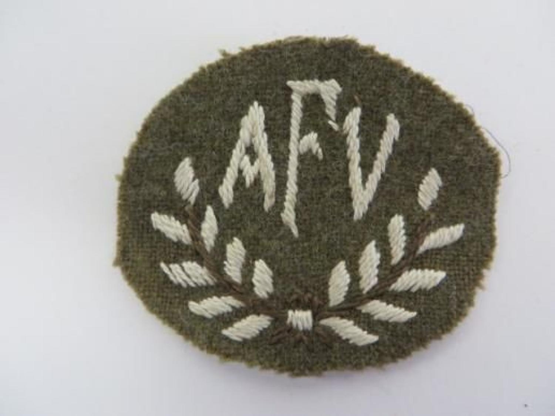 Armoured Fighting Vehicle Trade Badge