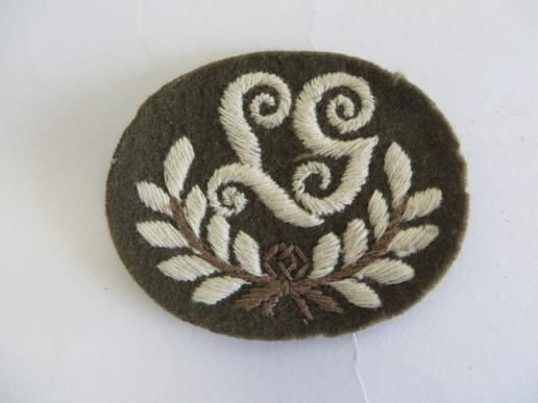 Lewis Gunners Trade Arm Badge