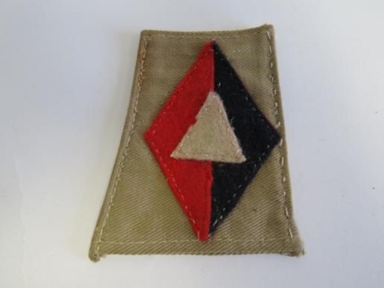 Royal Artillery 1st Division slip on Formation Badge
