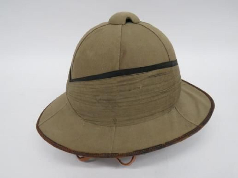 WW 1 / Interwar Officers Wolsley Pith Helmet