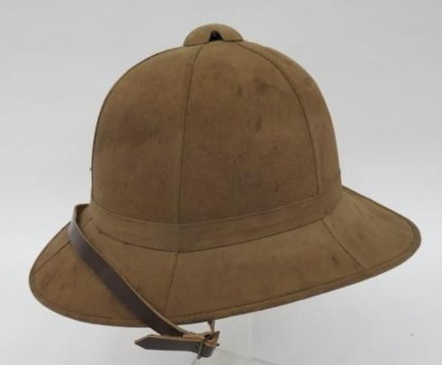 WW 1 Utility Pattern Other Ranks Wolsley Pith Helmet