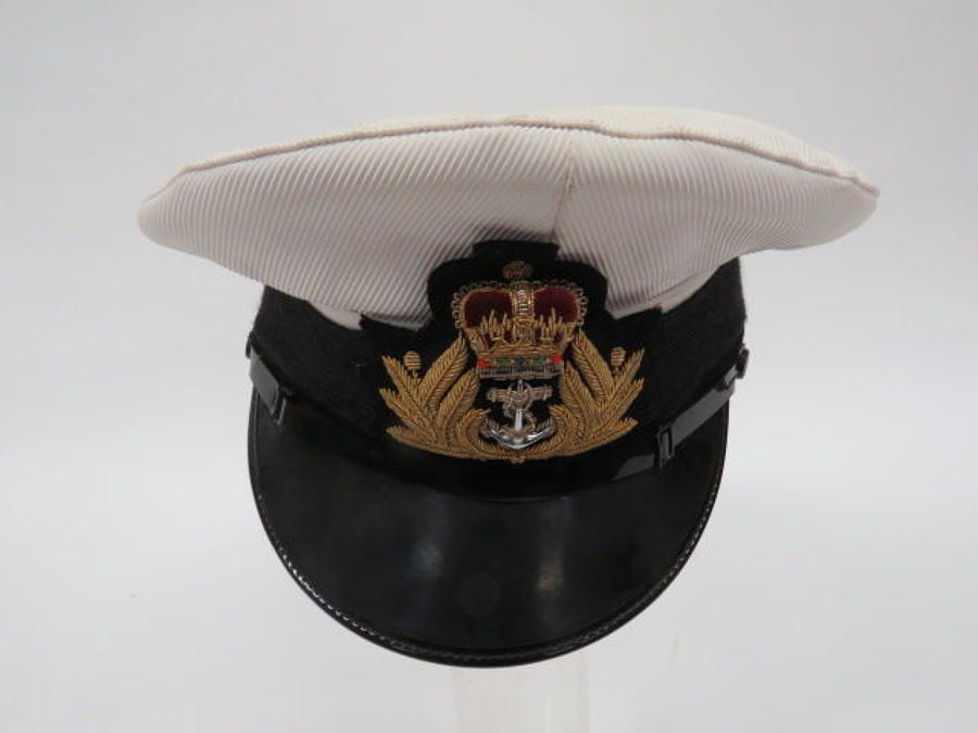 Post 1953 Royal Navy Officer's Service Dress Cap