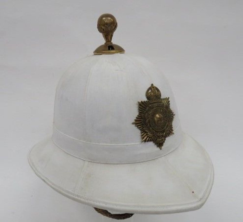 Post 1901 Royal Marines Dress Helmet