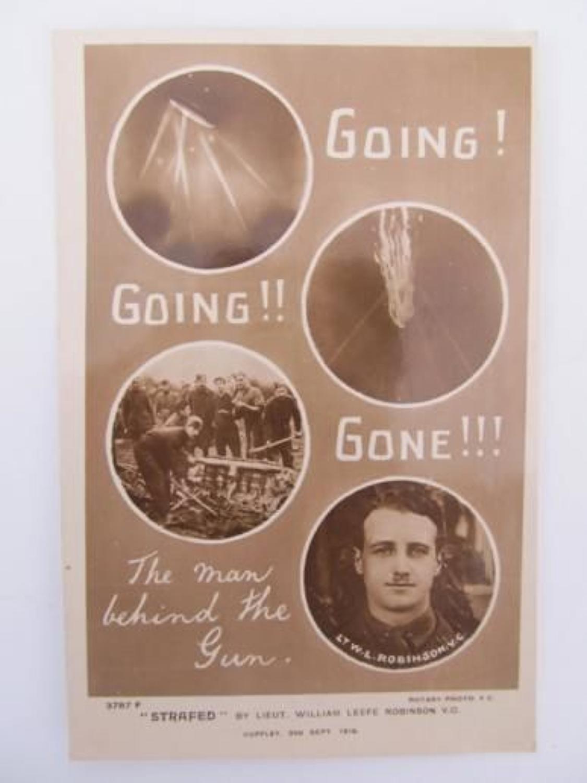 WW1 Zeppelin Postcard