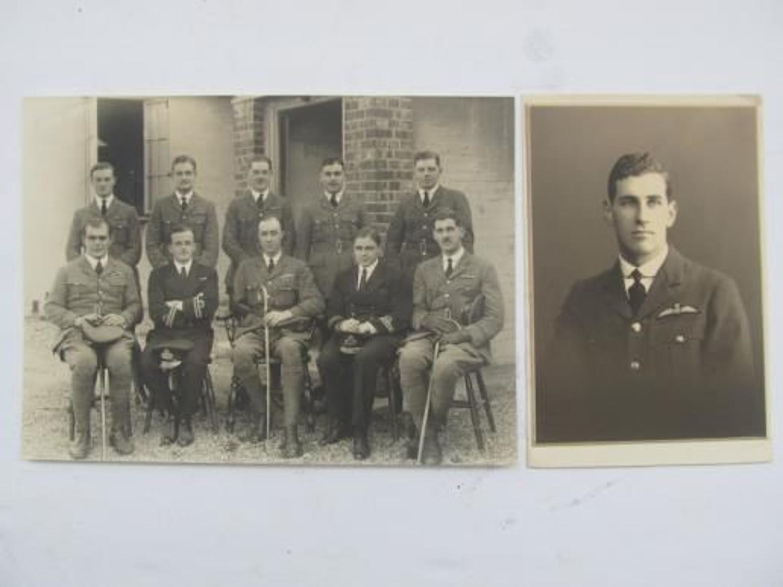 Original Photos of S/Leader F C Rowlands