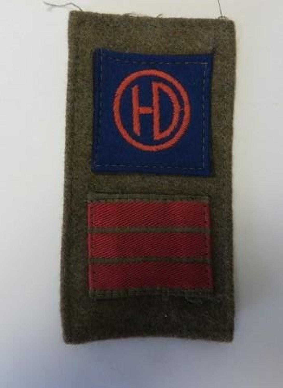 51st Highland Division Battle Patch