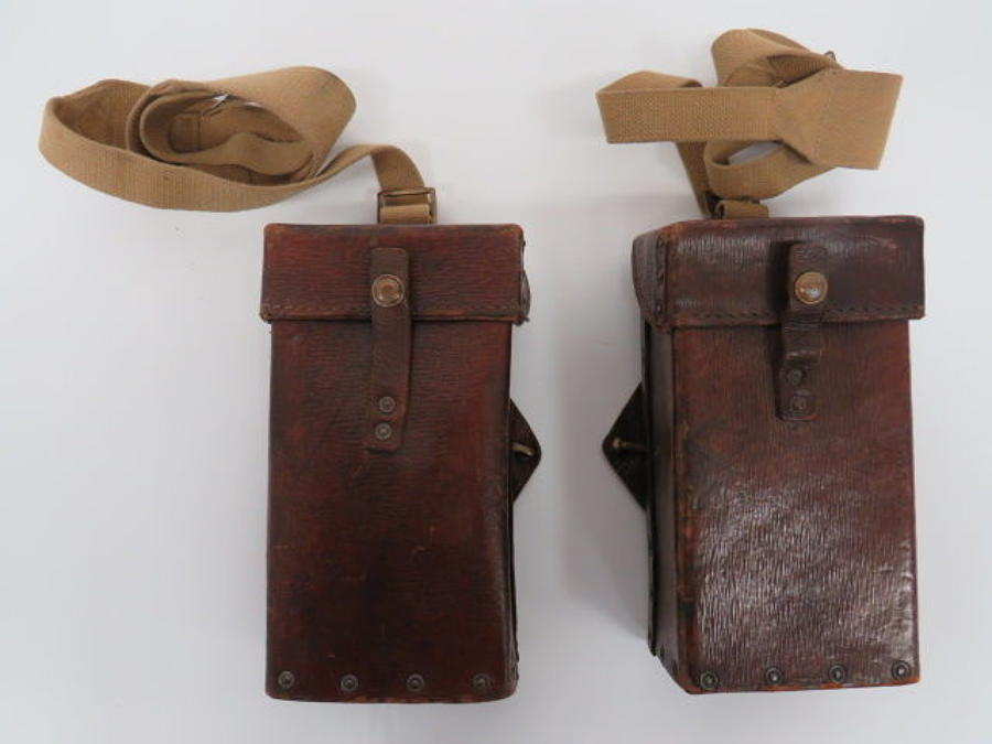 Scarce 1st pattern 1939 Pattern Ammunition Pouches