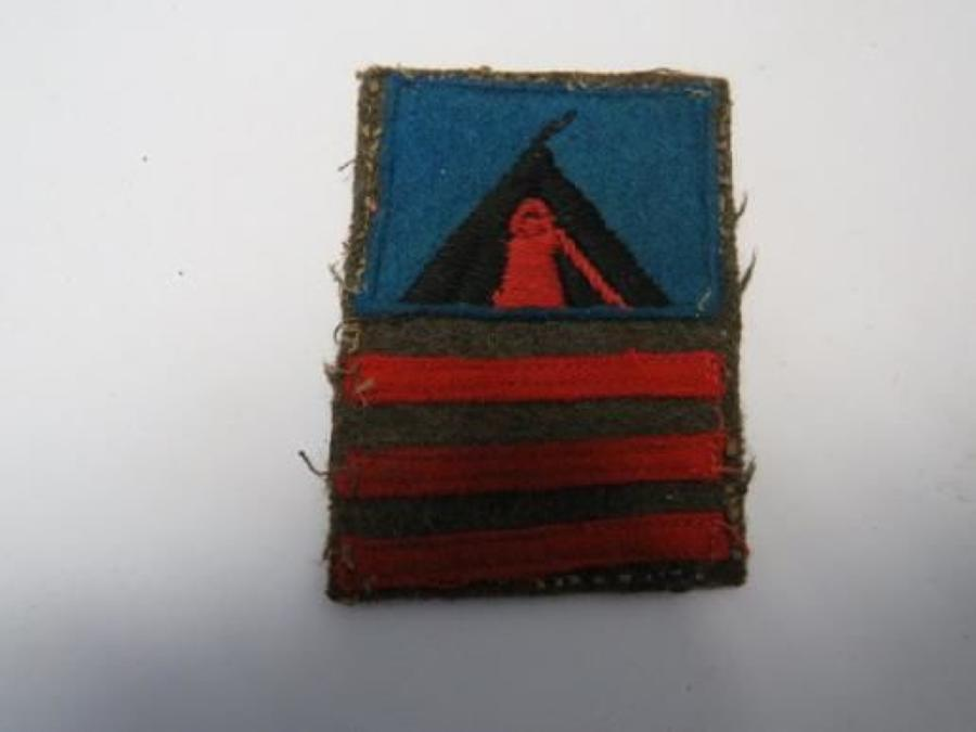 59th Staffordshire Infantry Division Battle Badge