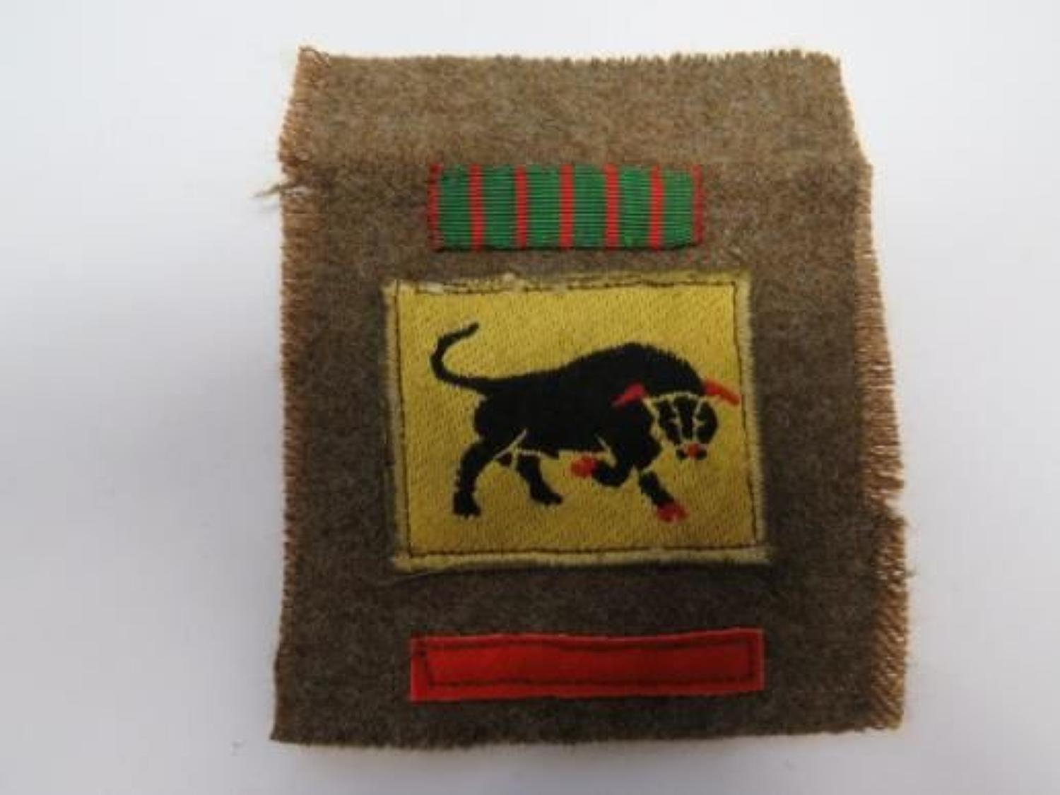 11th Armoured K.S.L.I Battle Patch