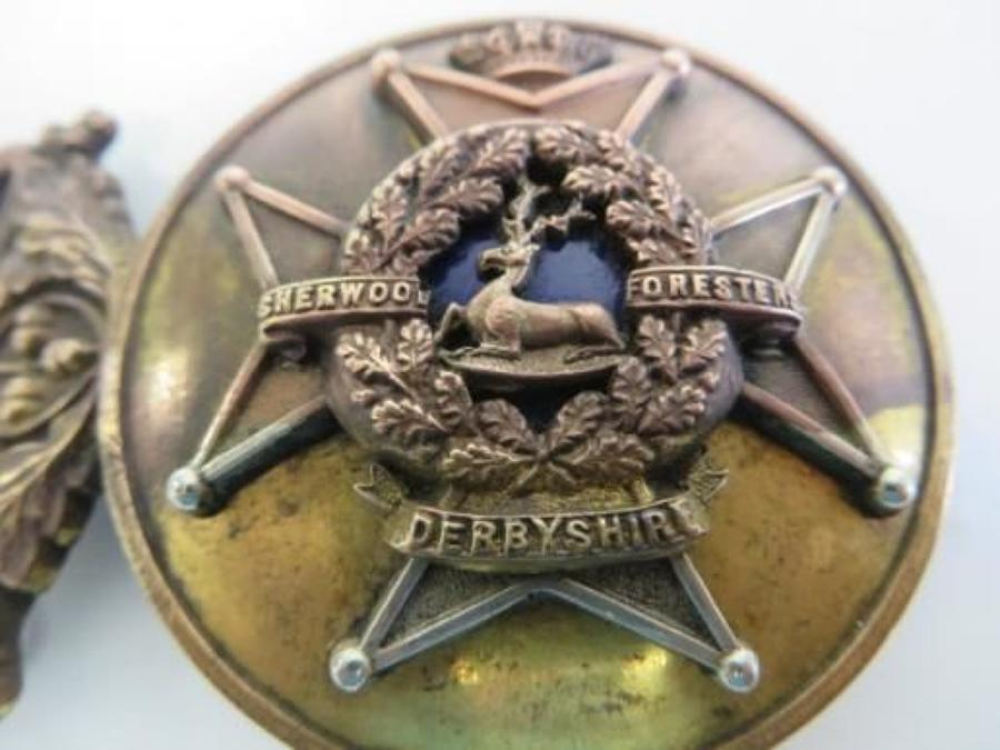 Victorian Derbyshire Officers Dress Buckle