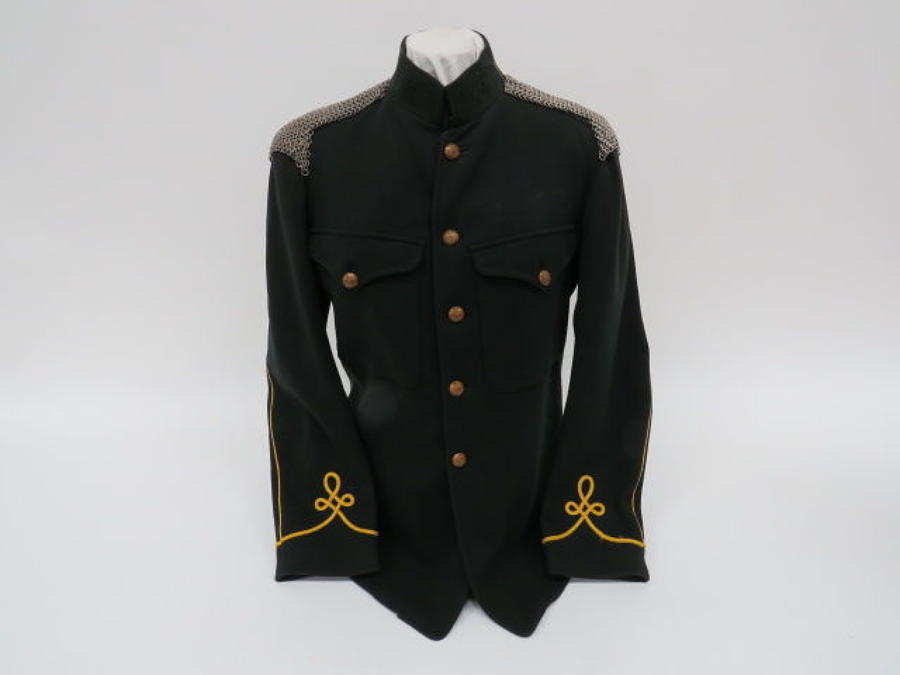 Post 1901 Sherwood Rangers Yeomanry Dress Tunic