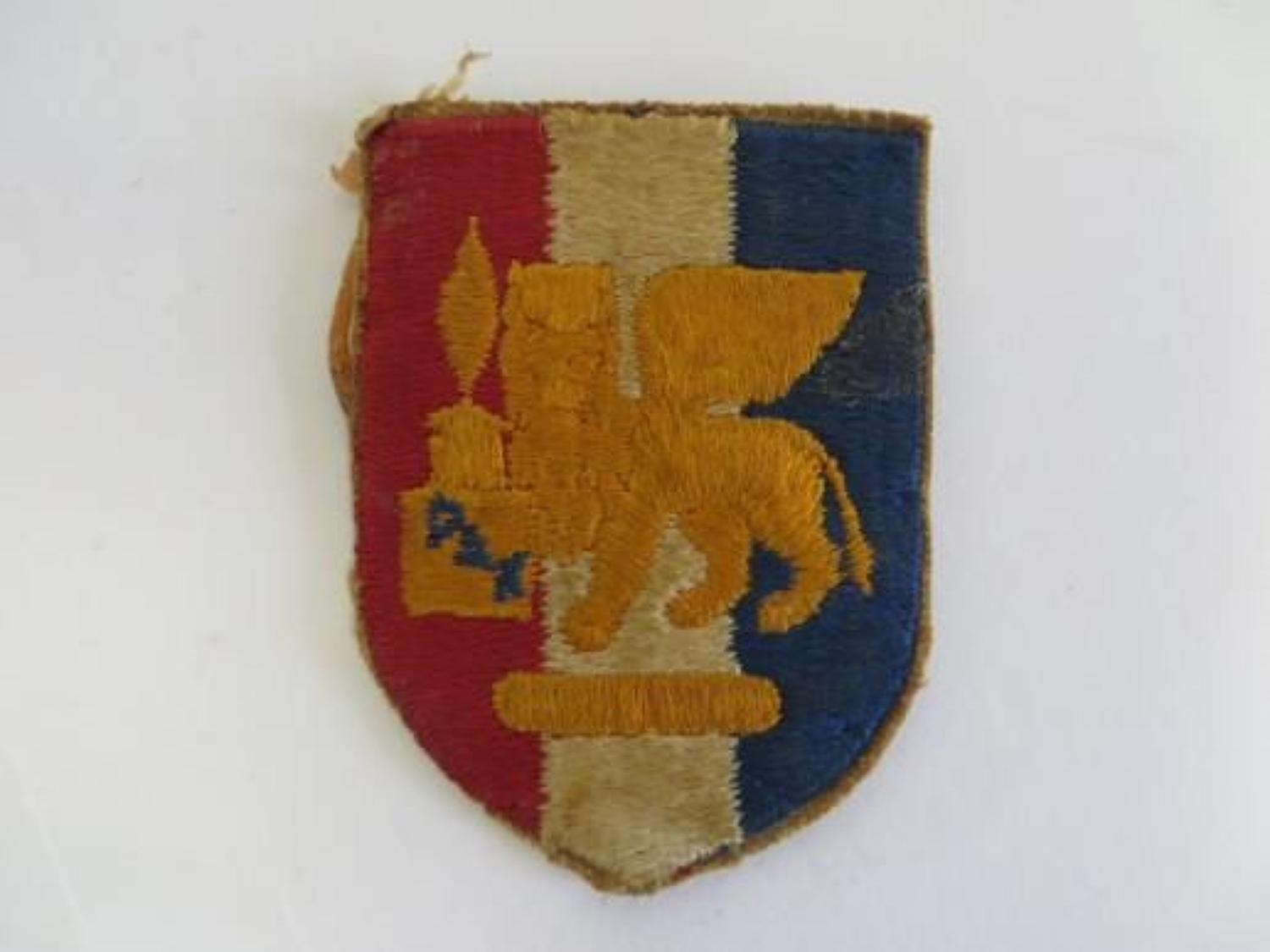 WW 2 Italy Formation Badge