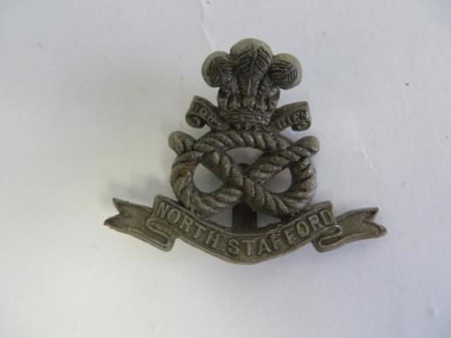 WW 2 North Stafford Plastic Economy Badge