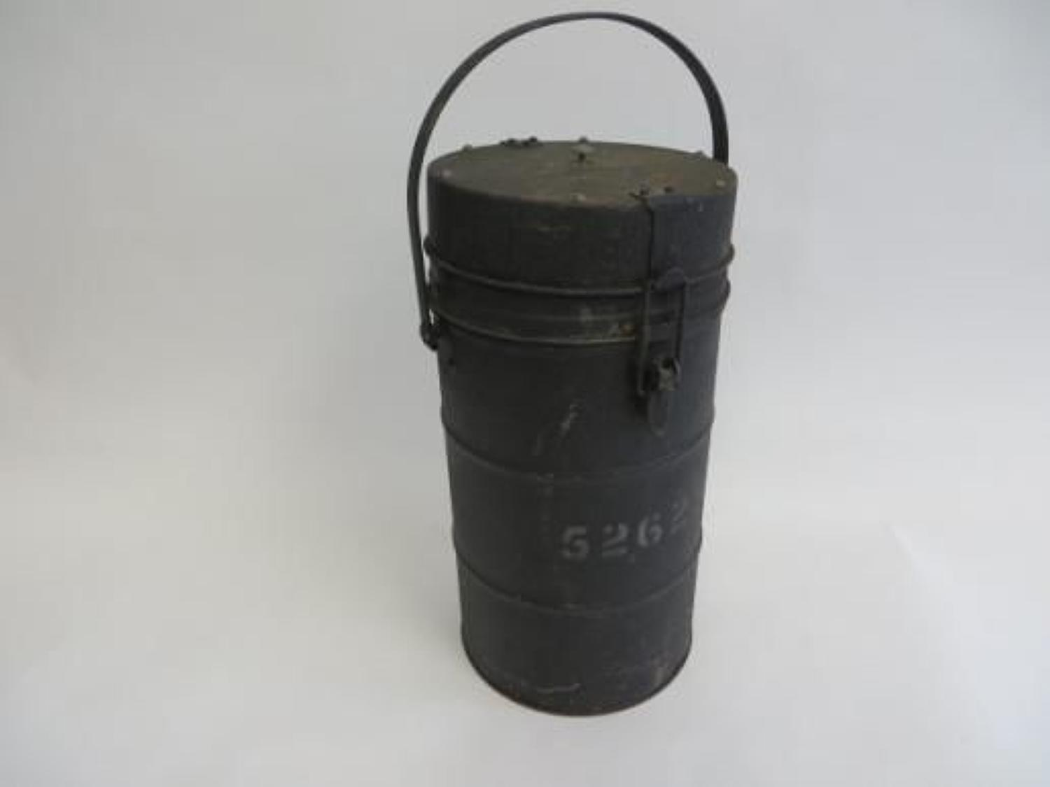 Airborne Pattern Food Thermos Flask with Internal Containers