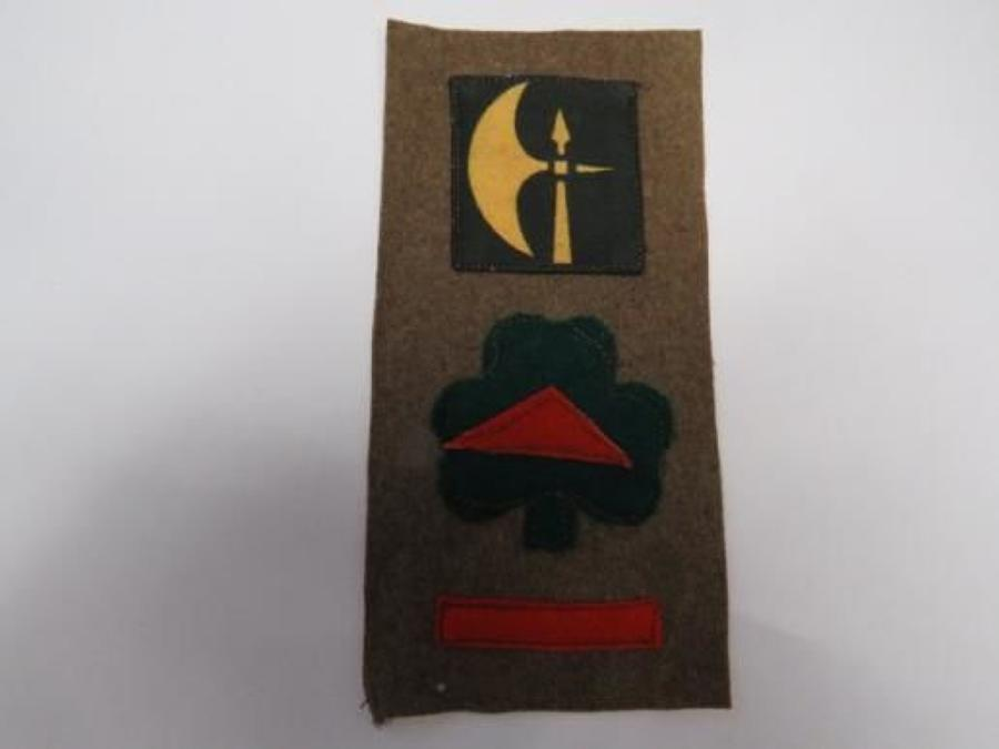 78th Infantry Division Royal Inniskilling Fusiliers Battle Patch