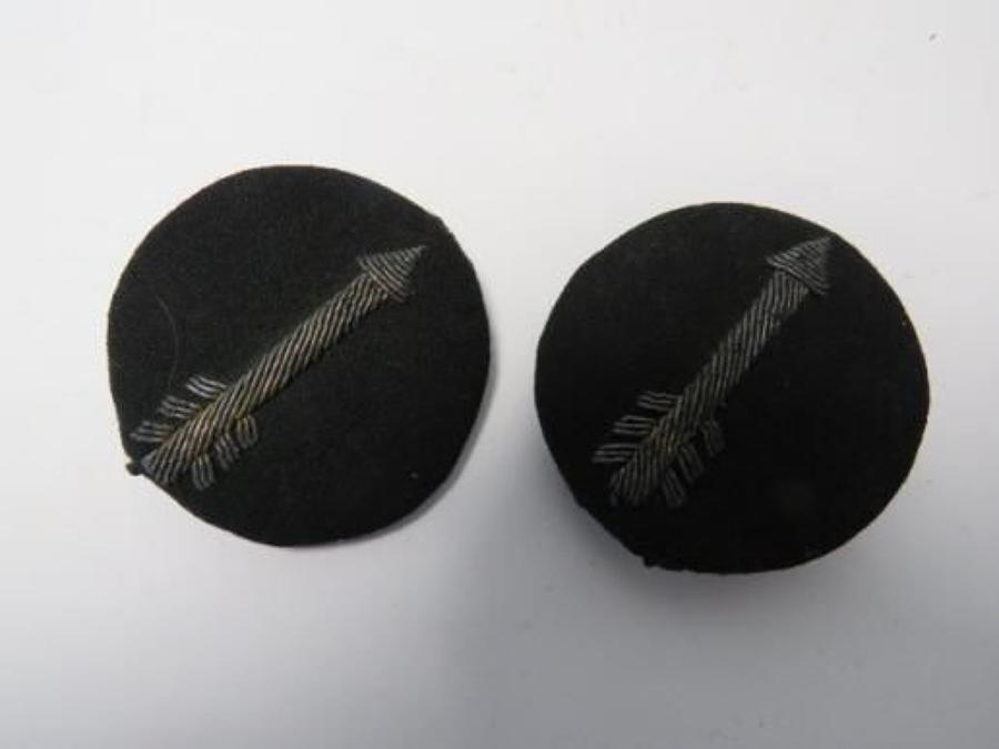 Pair of 7th Indian Division Officer Formation Badges