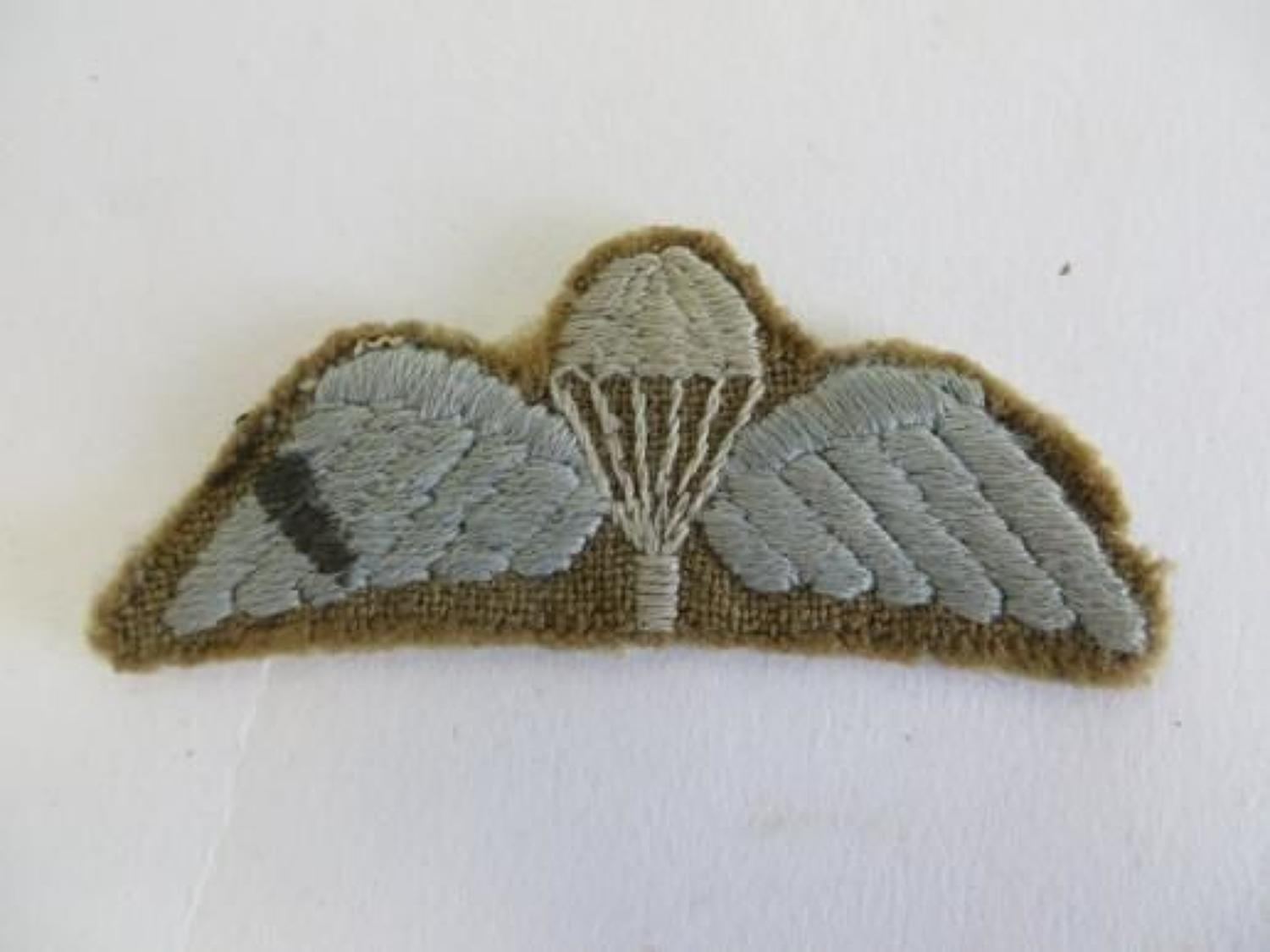 WW2 Airborne Parachute Wings