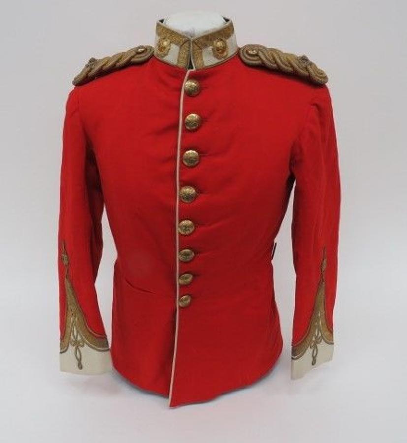 Border Regiment Officers Dress Tunic