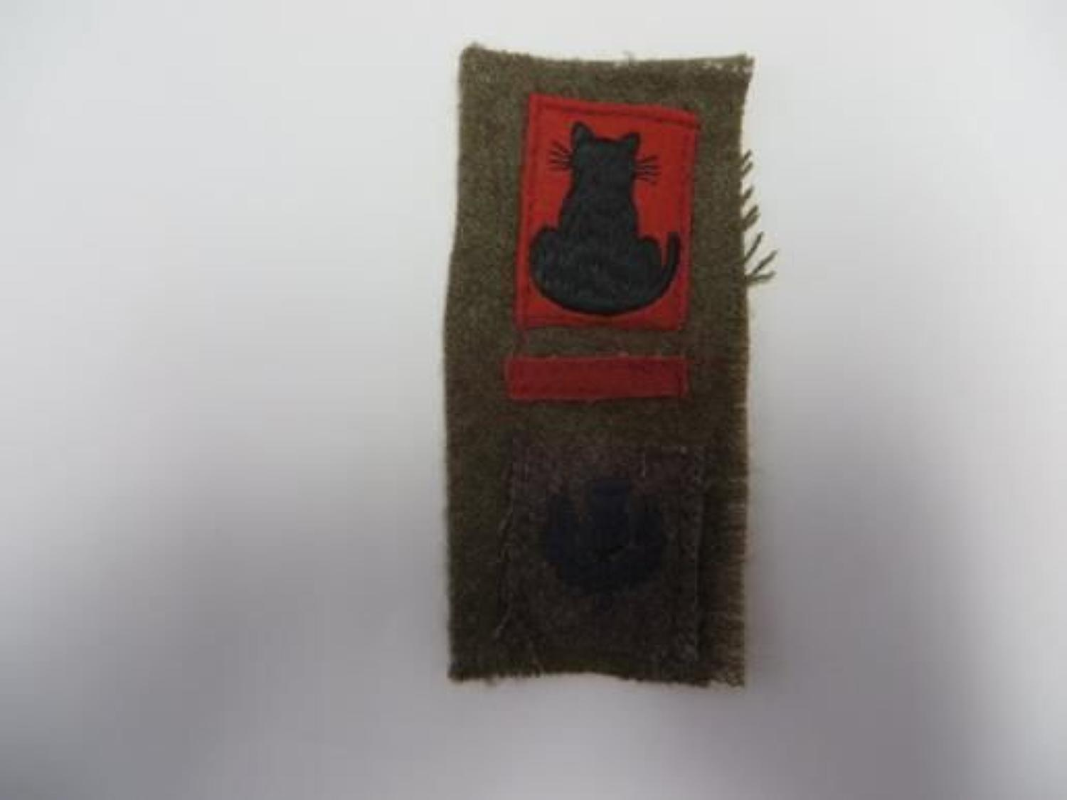 56th Infantry Division London Scottish Battle Patch