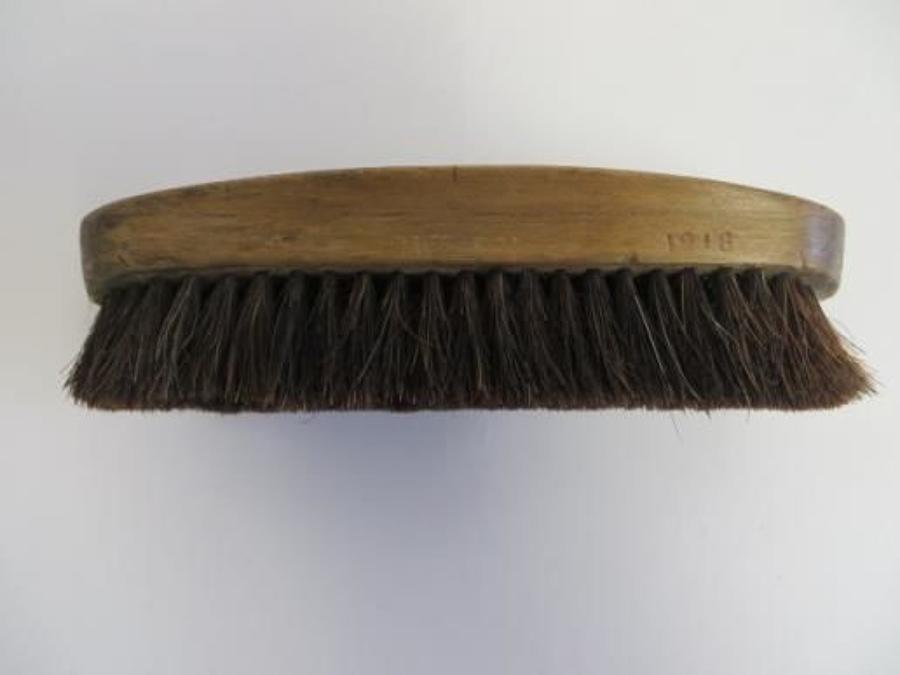 WW 1 British 1918 Dated Military Brush