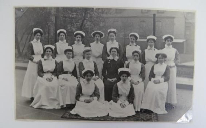 Original 1914 Red Cross Nurses Photo Archive